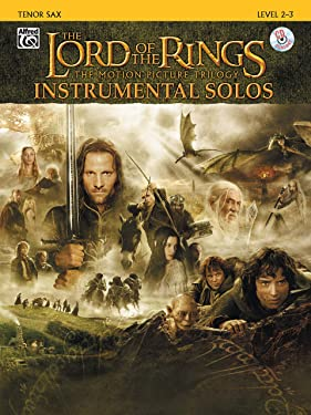 The Lord of the Rings Instrumental Solos: Tenor Sax, Book & CD
