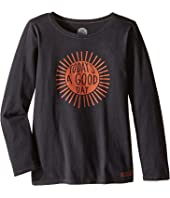 Life is Good Kids - Good Day Sunshine Long Sleeve Tee (Little Kids/Big Kids)