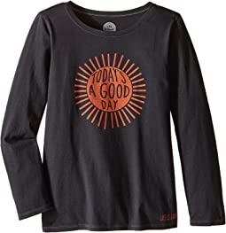 Good Day Sunshine Long Sleeve Tee (Little Kids/Big Kids)