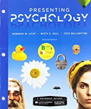 Loose-Leaf Version for Scientific American: Presenting Psychology & LaunchPad for Scientific American: Presenting Psychology (Six-Months Access)