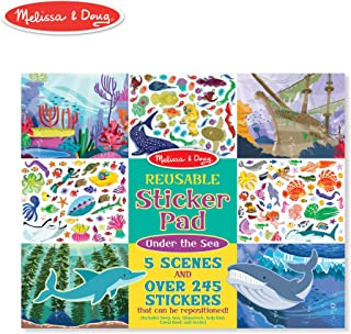 Melissa & Doug Reusable Sticker Activity Pad - Under The Sea Toy