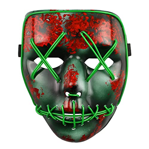 The Purge Election Year LED Light Up Mask Festival Halloween Costume By  ASVP Shop
