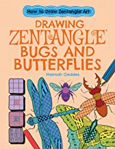 Drawing Zentangle Bugs and Butterflies (How to Draw