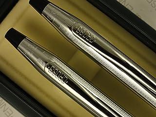الصليب صنع في الولايات المتحدة الأمريكية كلاسيكي من الكروم المصقول قلم كروي وطقم أقلام رصاص 0.5 مم