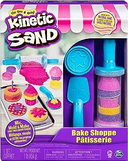 Kinetic Sand-Bäckerei Spielset, Set de panadería, 454 g de arena, multicolor (Spin Master 6045940) , color/modelo surtido