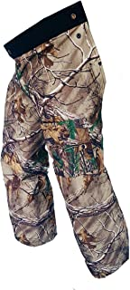 Forester Chainsaw Safety Chaps - Full Wrap Zipper - Real Tree Camo (Short (35