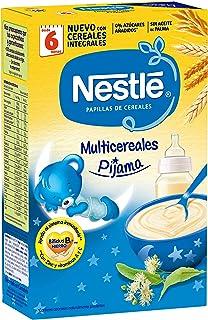 Nestlé Papilla Multicereales Pijama - Alimento Para bebés - Paquete de 6x500 g - Total: