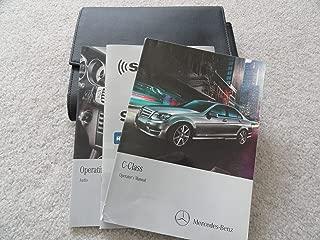 2013 Mercedes Benz C250 C300 C350 C63 AMG Owners Manual