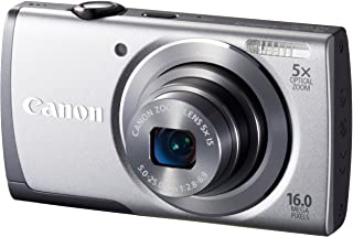 Canon デジタルカメラ PowerShot A3500 IS(シルバー) 広角28mm 光学5倍ズーム PSA3500IS(SL)