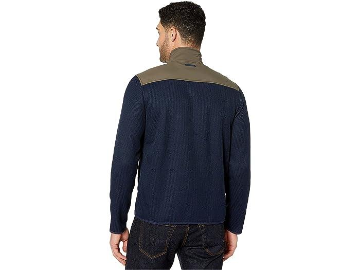 Perry Ellis Mens Long Sleeve Color Block Shirt