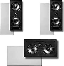 Polk Audio Vanishing RT Series 3.0 in-Wall Home Speaker System (2-265RT & 1-255CRT)