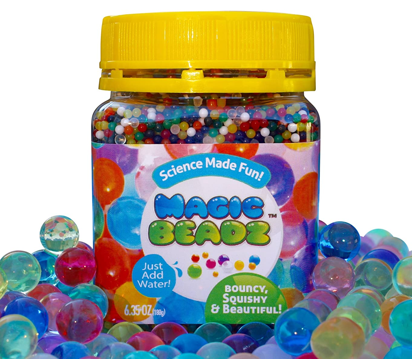 MagicBeadz - Crystal Jelly Beads Grow in Water - Fun for All Ages