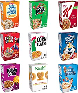 Sponsored Ad - Kellogg's Total Assortments, Breakfast Cereal, Variety Pack, (72 Count)