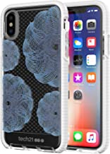 tech21 - Evo Check Evoke Case for iPhone X - Clear/Blue