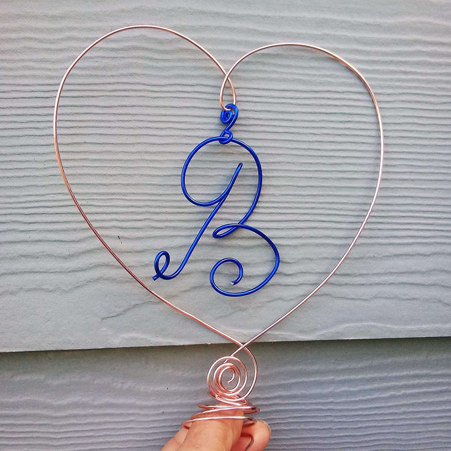 Personalized Translated Recommended Letter Christmas Tree Topper Heart