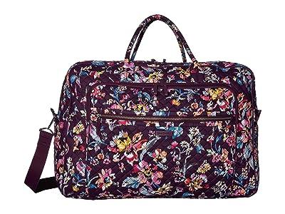 Vera Bradley Iconic Grand Weekender Travel Bag (Indiana Rose) Weekender/Overnight Luggage