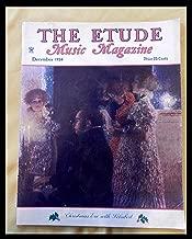 The Etude Music Magazine Christmas Eve with Schubert December 1934