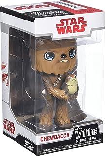 Star Wars- Wobblers The Last Jedi-Chewbacca SW-EP8 Figura de Vinilo Wobbler: A Character, Episodio 8, Multicolor (Funko 20226)