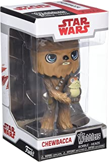 Funko Wobblers Star Wars: The Last Jedi - Chewbacca - Collectible Figure