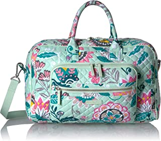 Women's Signature Cotton Compact Weekender Travel Bag