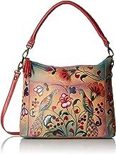 Anna by Anuschka Women's Genuine Leather Convertible Shoulder Handbag | Zip-Top Crossbody