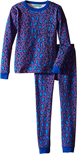 BedHead Kids - Long Sleeve Long Bottom Pajama Set (Toddler/Little Kids)