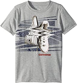 Converse Kids - Shifted Chucks Tee (Big Kids)