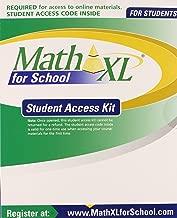 mathxl student access