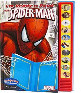 Marvel - Spider-man I'm Ready to Read - Play-a-Sound - PI Kids