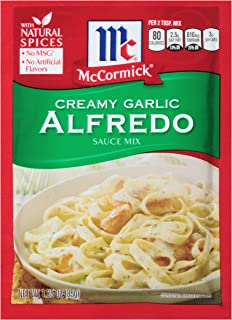McCormick Creamy Garlic Alfredo Sauce Mix, 1.25 oz