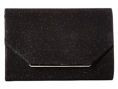 Jessica McClintock Alexis Clutch (Black) Clutch Handbags