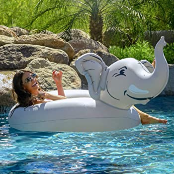 Funny luftmatraze for swimming various Variant Floating Animal Inflatable