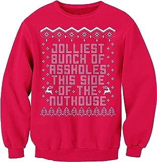 Jolliest Bunch of Assholes - Funny Christmas Sweater Sweatshirt