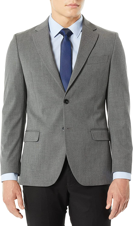 Nautica Men's Stretch Slim Fit Suit Separate (Blazer and Pant)