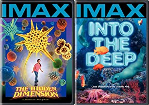 IMAX Into The Ocean Deep + The Hidden Dimension Explore & Experience the Wonders DVD Bundle 2 Pack