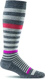 Sockwell Women's Orbital Stripe Graduated Compression Socks
