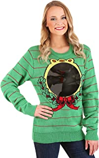 American Stitch USA Adult Ugly Mirror Christmas Sweater