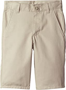 Nautica Kids Slim Flat Front Twill Shorts (Big Kids)