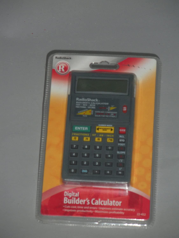 Radio Shack Digital Max 64% OFF Calculator Builders Great interest