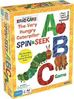 The World of Eric Carle The Very Hungry Caterpillar Spin & Seek ABC Game