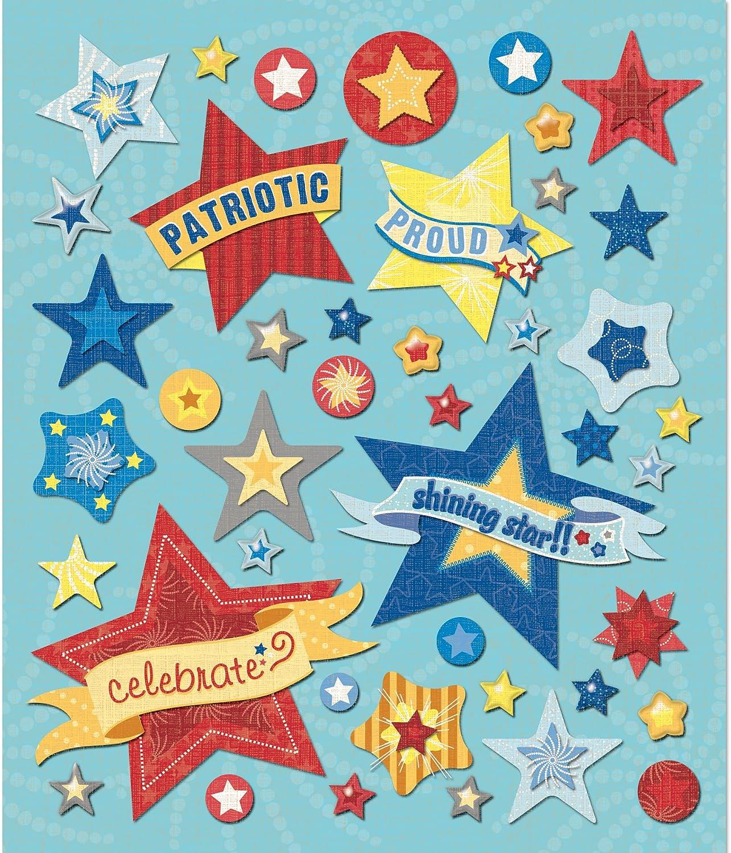 Unbekannt K&Company Aufkleber Medley Stars B0040X3QQ8 | | | Genial Und Praktisch  2d657b