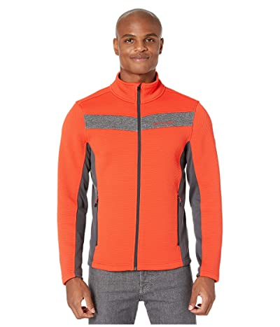 Spyder Encore Full Zip Fleece Jacket (Volcano) Men