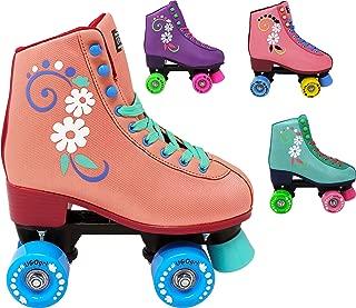 Lenexa uGOgrl Roller Skates for Girls - Kids Quad Roller Skate - Indoor, Outdoor, Derby Children's Skate - Rollerskates Made for Kids - Great Youth Skate for Beginners