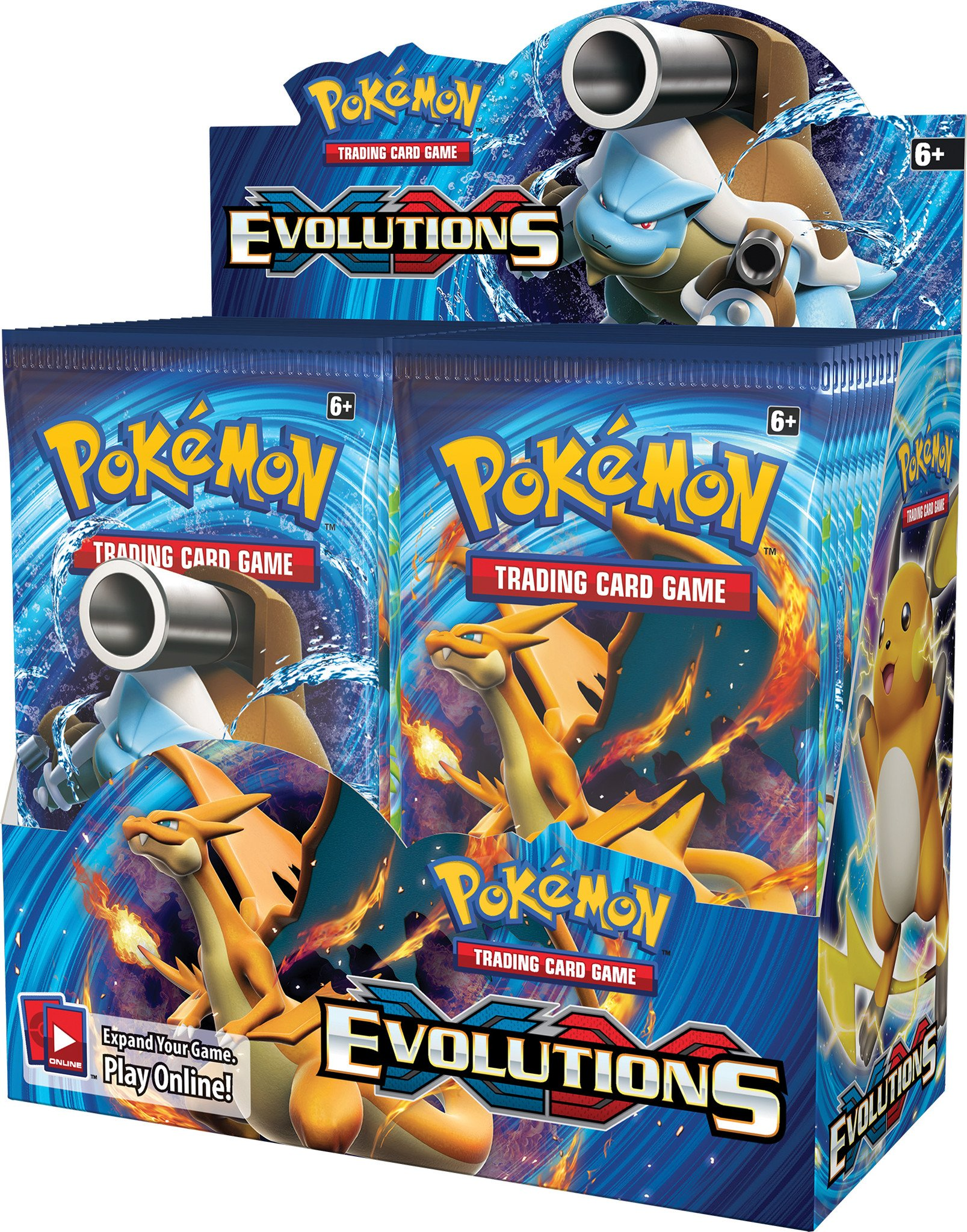 Pokemon TCG Evolutions Sealed Booster