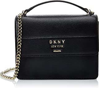 DKNY Women's Satchel, Black/Gold - R9333D68