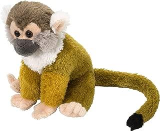 Wild Republic Squirrel Monkey Plush, Stuffed Animal, Plush Toy, Gifts for Kids, Cuddlekins 8 Inches