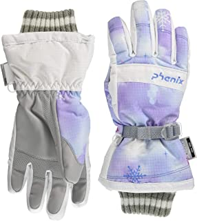 phenix(菲尼克斯) Snow Crystal Girl's Gloves PS8H8GL90 LA JL