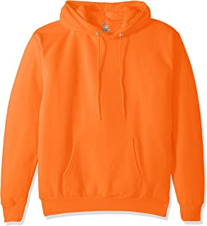 Men's Pullover EcoSmart Fleece Hooded Sweatshirt