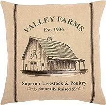 VHC Brands Valley Farms Barn Farmhouse Pillow Cover 16x16
