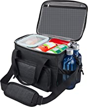 Lunch Box for Men, 18 cans Large Leak-proof Insulated Big Lunch Box, Lunchbox Adult Men..